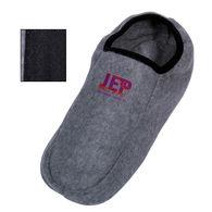 Lightweight Fleece Slippers with Slip-Resistant Finish on Bottom