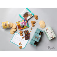 *NEW* Cookies & Crumbs: A Gourmet Afternoon Snack Gift Box that Ships Directly to Recipients (2 Sizes available)