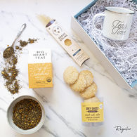 *NEW* Tea Time:  A Gourmet Relax and De-Stress Gift Box that Ships Directly to Recipients (2 Sizes available)