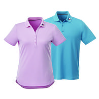 Zoom-Ready Quick Ship LADIES' Wicking Polo is Snag Resistant with UV Protection BETTER