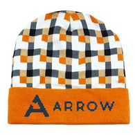 *NEW* Beanie with Knit-In Custom Logo - Optional Cuff and Pom Pom Can Be Added