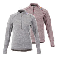 *NEW* Zoom-Ready Quick Ship LADIES' Wicking Half-Zip Pullover