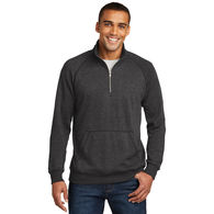 *NEW* Adult Quarter Zip Lightweight Fleece Pullover with Kangaroo Pocket
