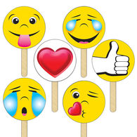 *NEW* Emoji Fans/Signs Kit Includes 6 Designs