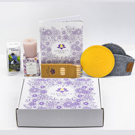 *NEW* Serenity Now Kit with Coloring Journal and Pencils, Coaster Set, Votive Candle and Herbal Tea