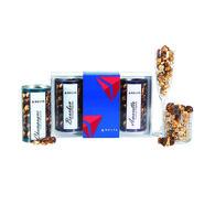 *NEW* Boozy Popcorn Gift Set - Champagne, Amaretto, and Bourbon Flavors (Non-Alcoholic)