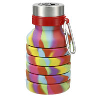 *NEW* 18 oz Tie Dye Silicone Collapsible Bottle