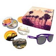 *NEW* Destination Gift Set #1 (11 American Cities Available!) - Sunglasses & Coasters