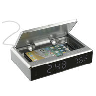 *NEW* UV Sanitizer Desk Clock with Wireless Charging