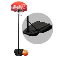 *NEW* Basketball Hoop is Adjustable Up To 76