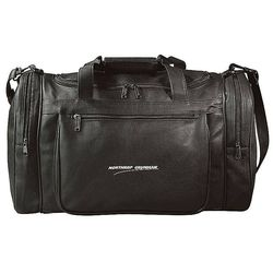 "20"" Faux-Leather Duffel Bag"