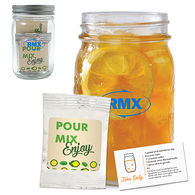 *NEW* Arnold Palmer (Lemonade & Iced Tea) Kit in a Mason Jar with Recipe Card