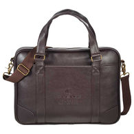 Faux Leather Business Laptop Brief - Holds 15