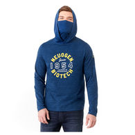 *NEW* Quick Ship MEN'S Eco-Knit Hoodie with Built-In Face Cover