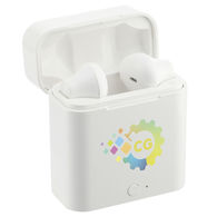 *NEW* True Wireless Auto Pair Earbuds with Full Color Printing