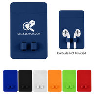 *NEW* Phone Wallet with Earbuds Holder