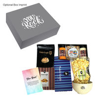 *NEW* Movie Night Kit Includes Chex Mix, Cashews, Popcorn Kernel Set with Seasonings, Microwave Popcorn, and Ceramic Bowl