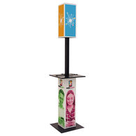 *NEW* Hard-to-Miss Light-Up Lamppost Tower Charging Station Lets Event Guests Charge Their Mobile Devices While Standing Around
