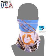 *NEW* Tube Bandana/Face Covering - Cooling Fabric, Full Color Printing (Made in the USA)