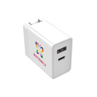 *NEW* Fast-Charging Power Wall Adapter with Dual USB-A and Type C Outlets is Capable of Charging 2 Devices Simultaneously