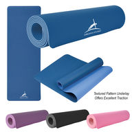 *NEW* Two-Tone Double Layer High Traction Yoga Mat