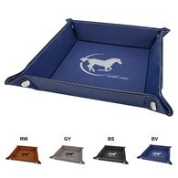 *NEW* Leatherette Snap Tray - Low Minimum Order!