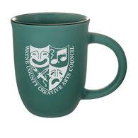 *NEW* 14 Oz. Matte Mug with Sandblasted Imprint Makes Them Dishwasher and Microwave Safe - Low Minimum Order!