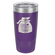 *NEW* 20 Oz. Stainless Steel Double-Wall Vacuum-Insulated Ringneck Tumbler - Low Minimum Order!