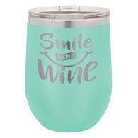 *NEW* 12 Oz. Stainless Steel Double-Wall Vacuum-Insulated Stemless Tumbler - Low Minimum Order!