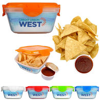 *NEW* Clip-Top Fiesta Container with Tortilla Chips and Salsa