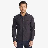 *NEW* UNTUCKit® Men's Black Stone Wrinkle-Free Long Sleeve Shirt