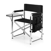 *NEW* Easily Transportable Lightweight Aluminum Sports Chair Features a Fold-Out Side Table and an Armrest Caddy with Storage Pockets