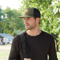*NEW* Crushable, Foldable, Easy-to-Travel-With Foam Outdoor Cap With Easy-Release Buckle