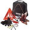 Highway Roadside Emergency Kit in Zipper Case Contains 12 Safety Essentials