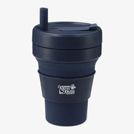 *NEW* Stojo® Biggie 16 oz Cup is Reusable & Collapsible - Enjoy Hot or Cold Beverages Anywhere, Anytime!