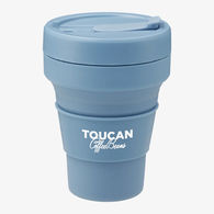 *NEW* Stojo® Pocket 12 oz Cup is Reusable & Collapsible - Enjoy Hot or Cold Beverages Anywhere, Anytime!