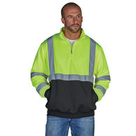 *NEW* Charles River® Adult Quarter Zip Hi-Vis Sweatshirt