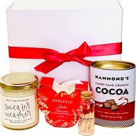 *NEW* Sweater Weather Gift Box Includes Soy Candle, Body Wash-Infused Buffer, Cocoa, and Matches with Striker