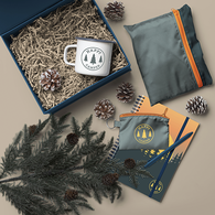 *NEW* Happy Camper Kit with Stowaway Bag, Mug, Key Ring, Pen and Message Card in Gift Box