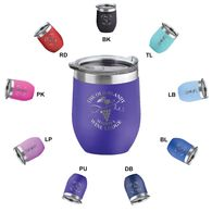 *NEW* 16 oz VALUE Stainless Steel Stemless Travel Tumbler - Low Minimum Order!