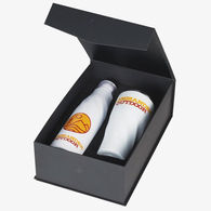 *NEW* Drinkware with a Twist Gift Set with Vacuum Insulated Travel Tumbler and Bottle
