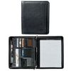 Letter-Size Manhattan Leather Zippered Padfolio