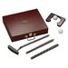 Five Piece Putter Set Includes Case, Putter, Practice Balls and Putting Ring