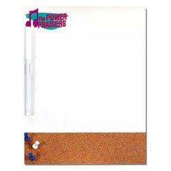 Dry-Erase & Cork Combo Board