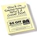 "Post-it&reg Notes - 3"" x 4"" - 25 Sheet"