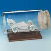 Indy Car Business Card Sculpture in a Bottle Award
