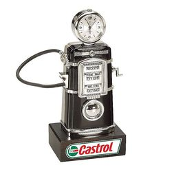 Die Cast Fuel Pump Clock