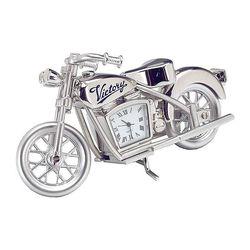 Die Cast Motorcycle Clock