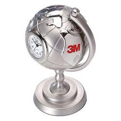 Die Cast Clock Shaped Like a Globe