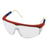Red, White & Blue Framed Safety Glasses